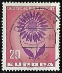 Sellos de Europa - Alemania -  Europa - flor