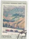 Stamps Russia -  PINTURA PAISAJE