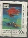 Sellos de America - Argentina -  SCOTT N °984    (Cotiz.0.35 USD)