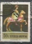 Sellos de America - Argentina -  SCOTT N °986    (Cotiz.0.25 USD)