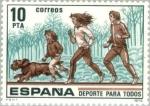 Stamps Spain -  DEPORTE PARA TODOS RUNNING