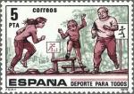Stamps Spain -  DEPORTE PARA TODOS ASSAULT COURSE