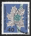Sellos del Mundo : Europa : Alemania :  Flora and philately