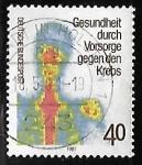 Sellos del Mundo : Europa : Alemania :  Prevención del cancer
