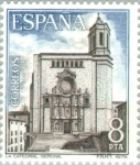 Stamps Spain -  TURISMO-1979 CATEDRAL (GERONA)