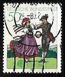 Stamps Germany -  Europa - Folklore