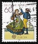Sellos de Europa - Alemania -  Europa - Folklore