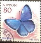 Stamps Japan -  Scott#3355 Intercambio 0,90 usd  80 y. 2011