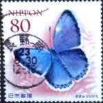 Sellos de Asia - Japón -  Scott#3355 Intercambio 0,90 usd  80 y. 2011