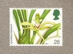 Sellos de Europa - Reino Unido -  Orquideas
