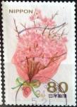 Sellos de Asia - Japón -  Scott#3400c Intercambio 0,90 usd  80 y. 2012