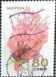 Stamps Japan -  Scott#3400c Intercambio 0,90 usd  80 y. 2012