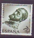 Stamps Spain -  ESPAÑA SEGUNDO CENTENARIO NUEVO Nº 1226 ** 70C VERDE CARLOS v