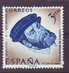 Sellos del Mundo : Europa : España : ESPAÑA SEGUNDO CENTENARIO NUEVO Nº 1231 ** 3P AZUL Y CASTAÑO CARLOS I