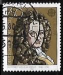 Sellos de Europa - Alemania -  Gottfried Wilhelm Leibniz (1646-1716)