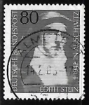 Stamps Germany -  Edith  Stein