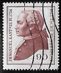 Sellos de Europa - Alemania -  Immanuel Kant