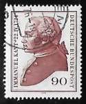 Stamps Germany -  Immanuel Kant