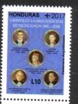 Stamps Honduras -  100 Años y Un Futuro Arquidiócesis de Tegucigalpa 1916-2016