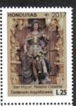 Sellos de America - Honduras -  100 Años y Un Futuro Arquidiócesis de Tegucigalpa 1916-2016
