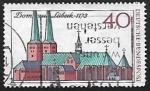 Stamps Germany -  Catedral de Lübeck