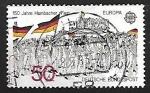 Sellos de Europa - Alemania -  Europa - 150 aniversario del Festival Hambac