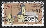 Sellos de Europa - Alemania -  Europa - Torre vieja de ayuntamiento de Regensburg