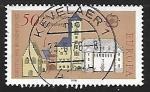 Stamps Germany -  Europa - Torre vieja de ayuntamiento de Regensburg
