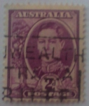 Sellos del Mundo : Oceania : Australia : Rey Jorge VI