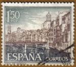 Sellos de Europa - España -  Vista de Gerona