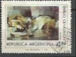 Sellos de America - Argentina -  INTERCAMBIO SCOTT N°1057(cotiz. 0.40 USD)