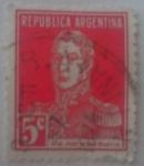 Sellos del Mundo : America : Argentina : San Martín