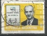 Sellos de America - Argentina -  INTERCAMBIO SCOTT N°1136(cotiz. 0.20    USD)