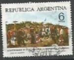 Sellos de America - Argentina -  INTERCAMBIO SCOTT N°1074 (cotiz.0.25 USD)