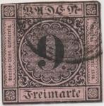 Stamps Germany -  BADE Y & T Nº 4