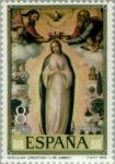 Stamps Spain -  PINTORES-Juan de Juanes Inmaculada Concepción