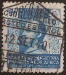 Stamps Morocco -  General Franco pro mutilados África  1940  10 cts azul