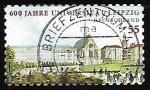 Sellos de Europa - Alemania -  Universidad de Leipzig