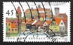 Stamps Germany -  Universidad de Leipzig