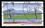 Sellos de Europa - Alemania -  Puente sobre el rio Salzach