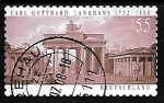 Stamps Germany -  Puerta de Brandenburg Berlin