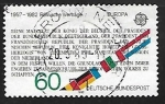 Sellos de Europa - Alemania -  50th Anniv of Federal Republic of Saarland