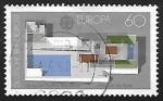 Sellos de Europa - Alemania -  Europa Arquitectura moderna
