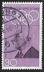 Sellos del Mundo : Europa : Alemania : Baron Pierre de Coubertin (1862-1937)
