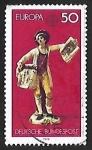 Sellos del Mundo : Europa : Alemania : Europa - artesanias