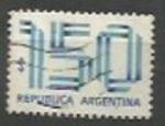 Sellos de America - Argentina -  INTERCAMBIO SCOTT N°1204  (cotiz.0.20 USD)