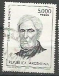 Stamps : America : Argentina :  INTERCAMBIO SCOTT N°1262  (cotiz.0.25 USD)