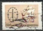 Stamps : America : Argentina :  INTERCAMBIO SCOTT N°1324  (cotiz.0.40 USD)