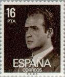 Stamps Spain -  BASICA JUAN CARLOS I