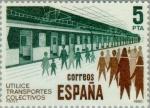 Stamps Spain -  TRANSPORTE PUBLICO  METRO